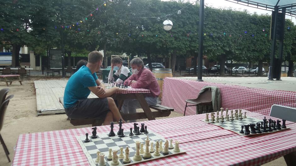 Tournoi d'échecs à Joinville