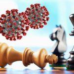 Le jeu d'échecs continue pendant le confinement